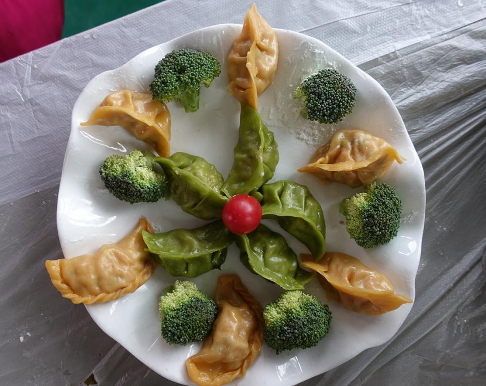 饺子大赛作品